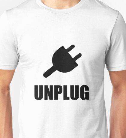 Unplug Technology Unisex T-Shirt
