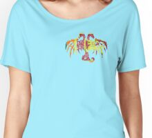 SRI LANKA 2 HEADED DRAGON FLAG Women's Relaxed Fit T-Shirt