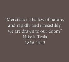 Order 1886 Quote Tesla  by Ray van Halen