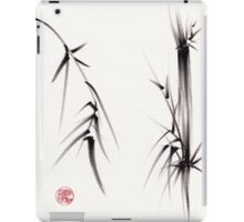 """Tao"" Original sumi-e brush painting on paper. iPad Case/Skin"