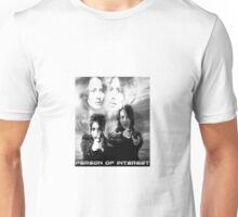 Root and Shaw Black and White  Unisex T-Shirt