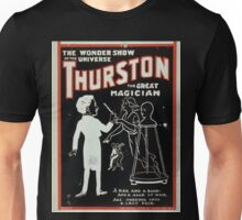 Performing Arts Posters Thurston the great magician the wonder show of the universe 0268 Unisex T-Shirt