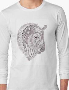Glacier Buffalo Long Sleeve T-Shirt