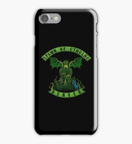 Spawn of Cthulhu 2 - Denver iPhone Case/Skin