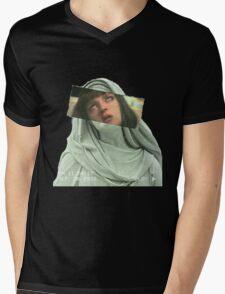 M I A    W A L L A C E Mens V-Neck T-Shirt