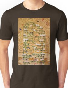 Gustav Klimt - Right Part Of The Tree Of Life 1909 Unisex T-Shirt