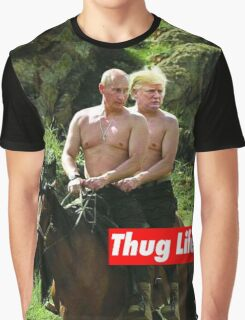 Thug Life Graphic T-Shirt