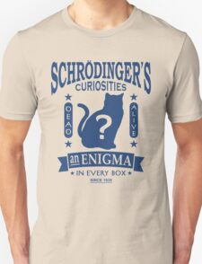Schrodinger's Cat - Quantum Mechanics Paradox Geek T-Shirt