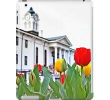 Courthouse Tulips iPad Case/Skin