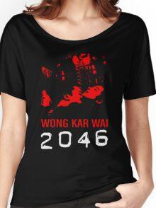 2046 -WONG KAR WAI- Women's Relaxed Fit T-Shirt