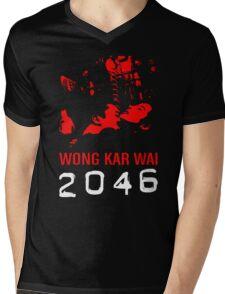 2046 -WONG KAR WAI- Mens V-Neck T-Shirt