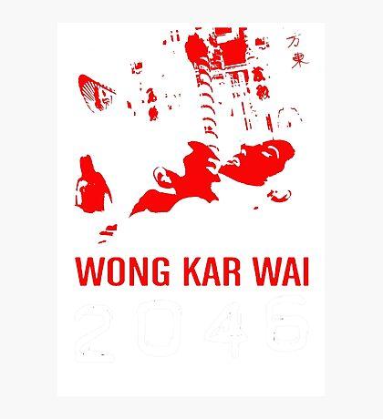 2046 -WONG KAR WAI- Photographic Print