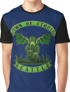 Spawn of Cthulhu 2 - Seattle Graphic T-Shirt