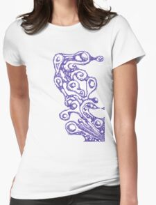 Mystic Tides Womens Fitted T-Shirt