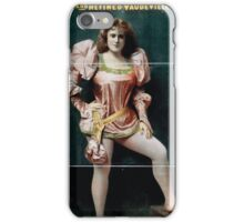 Performing Arts Posters Hurly Burly Extravaganza and Refined Vaudeville 1725 iPhone Case/Skin