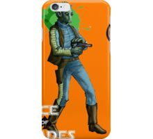 Greedo Western Poster iPhone Case/Skin