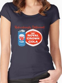 ROYAL CROWN COLA 7 Women's Fitted Scoop T-Shirt