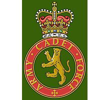 Army cadets Photographic Print