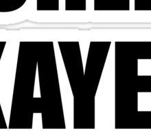World's Okayest Snowboarder Sticker