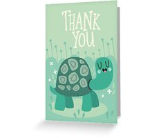 Happy Tortoise Greeting Card