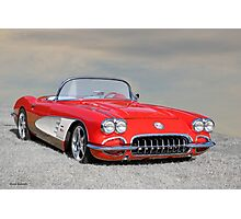 1958 Corvette Roadster I Photographic Print