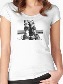 $UICIDEBOY$ (SUICIDEBOYS) Women's Fitted Scoop T-Shirt