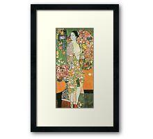 Gustav Klimt - The Dancer 1918 Framed Print