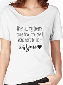 One Tree Hill - When all my dreams come true Women's Relaxed Fit T-Shirt