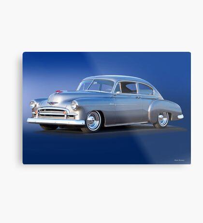 1950 Chevrolet Fleetline Deluxe Sedan Metal Print