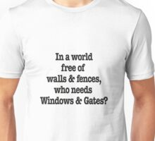 Windows & Gates Unisex T-Shirt