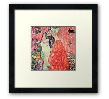 Gustav Klimt - Women Friends  Framed Print