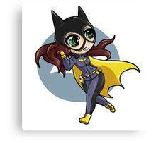 chibi batgirl escapes! Canvas Print