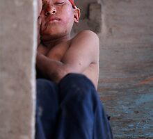 A victim of the Nepalese streets by stjc