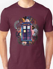 Colorful TARDIS Art Unisex T-Shirt