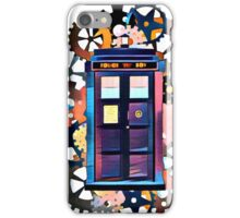 Colorful TARDIS Art iPhone Case/Skin