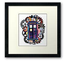 Colorful TARDIS Art Framed Print