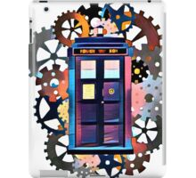 Colorful TARDIS Art iPad Case/Skin