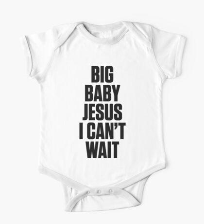 Ol Dirty Bastard - BIG BABY JESUS I CAN'T WAIT One Piece - Short Sleeve