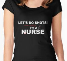 I'M A NURSE Women's Fitted Scoop T-Shirt