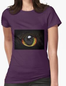 Eye To The Universe Womens Fitted T-Shirt