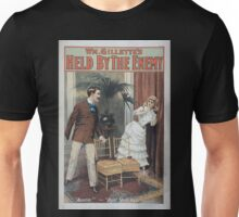 Performing Arts Posters Wm Gillettes Held by the enemy 0908 Unisex T-Shirt