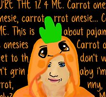 Hannah Hart Carrot Onesie Lyrics :) by hartbigmametown