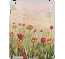 Field of Tulips- scroll down to view more of my work iPad Case/Skin