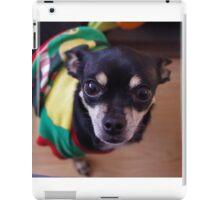 Cute chihuahua elf iPad Case/Skin
