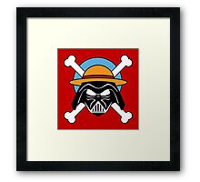 darth vader one piece fan  Framed Print