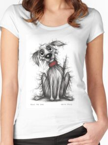 Rags the dog Women's Fitted Scoop T-Shirt