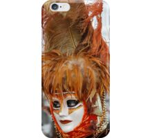 carnival mask iPhone Case/Skin