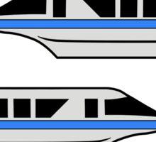 MonorailHighwayBlue Sticker
