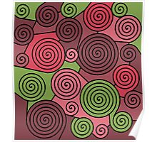 Green and red hypnoses  Poster