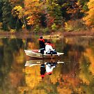 A great Fall Day for Fishing !  by Bine